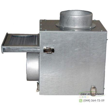 Смесительный фильтр-бокс ВЕНТС КФК 160 для каминного вентилятора КАМ