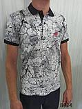 Мужская футболка Поло, MSY. 11232-8334(grey). Размеры: M,L,XL,XXL., фото 4