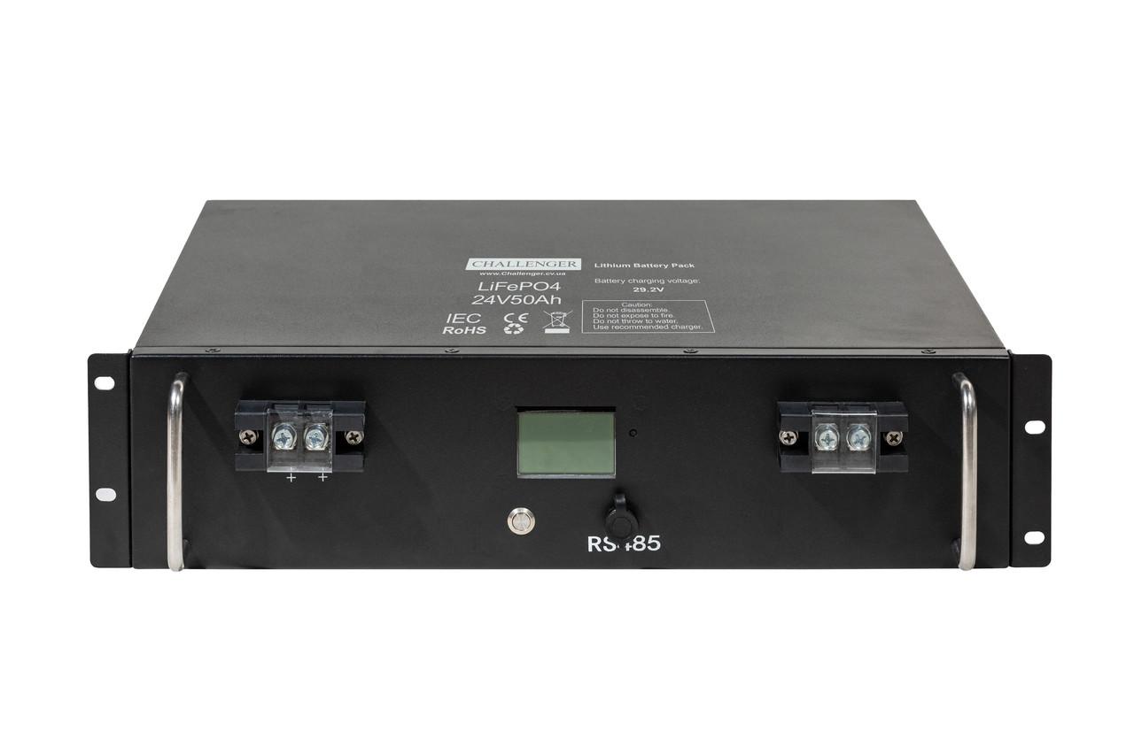 Аккумулятор Литиевый 50 Ач 24 В Challenger LF24-50