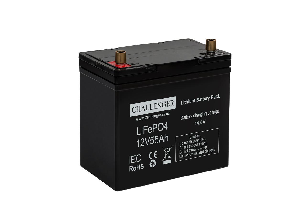 Аккумулятор Литиевый 55 Ач 12.8 В Challenger LF12-55