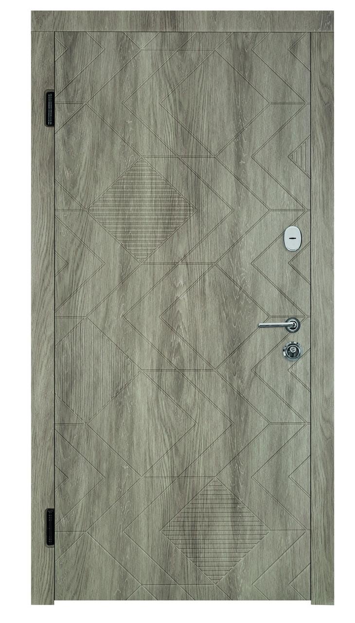 Вхідні двері для зовнішнього застосування Портала Ромбус, серія Тріо