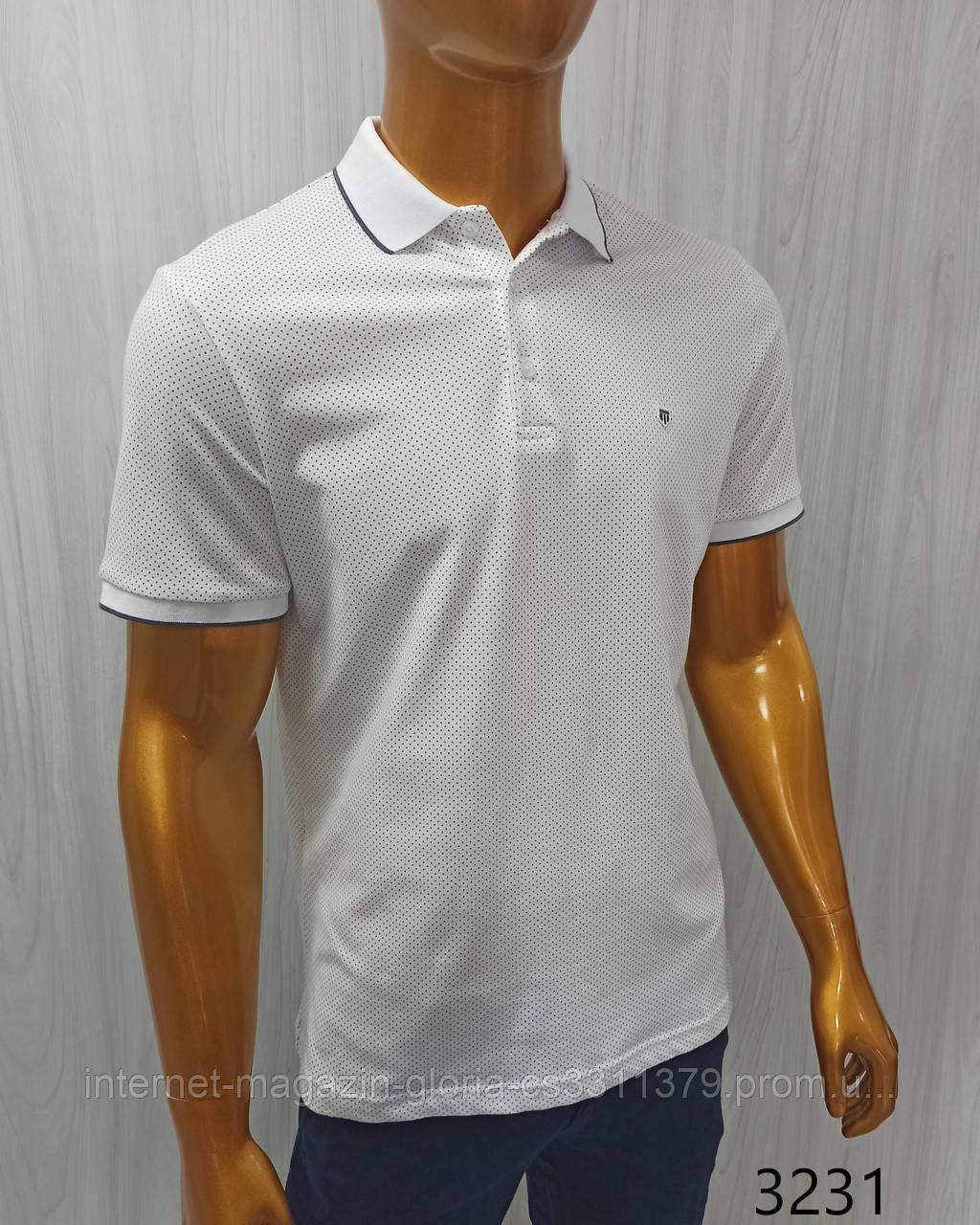 Мужская футболка Поло, Tony Montana. PL-3231. Размеры: M,L,XL,XXL.