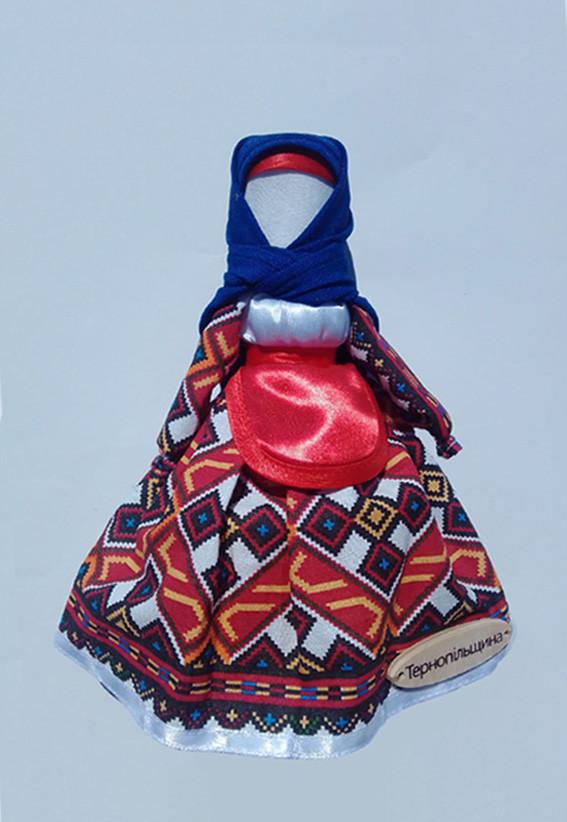 Кукла мотанка Hega Тернопольская область Тернопольщина (230-19)