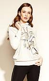 Zaps блуза Astea бежевого цвета. Коллекция осень-зима 2020-2021