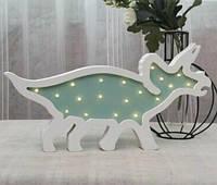 Детский деревянный ночник Динозавр MD 2079-2