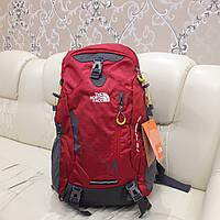 Рюкзак The North Face Red 40 литров под ноутбук стильный яркий