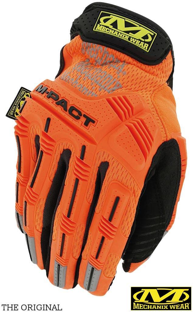 Перчатки MECHANIX HI-VIZ M-PACT®. RM-PACTHIVIZ