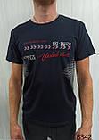 Мужская футболка MSY. 42666-8342(ч). Размеры: M,L,XL,XXL., фото 4