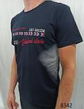 Мужская футболка MSY. 42666-8342(ч). Размеры: M,L,XL,XXL., фото 3