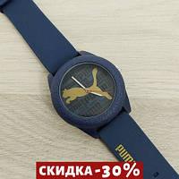 Мужские наручные часы Puma Blue-Black