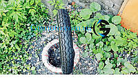 Покрышка 3.50-18 с камерой шоссейная для мотоциклов Иж Юпитер, Планета, ЯВА
