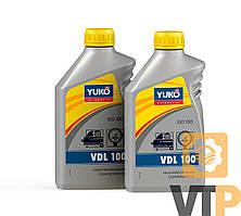 Олива компресорна YUKO VDL 100 (ISO 100) каністра 1л ПЕ