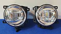Противотуманные LED фары на Toyota Land Cruiser 200, фото 1