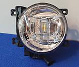 Противотуманные LED фары на Toyota Land Cruiser 200, фото 7
