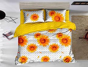 Комплект постельного белья , Подсолнухи сатин.
