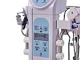 Косметологічний комбайн: вапоризатор, лампа-лупа, дарсонваль, вакуум, спрей, тепло/холод, УЗ-скрабер,-форез, фото 3