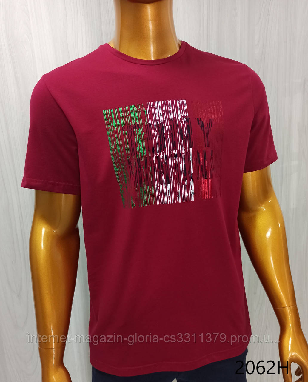 Мужская футболка Tony Montana. MSL-2062(b). Размеры: M,L,XL,XXL.