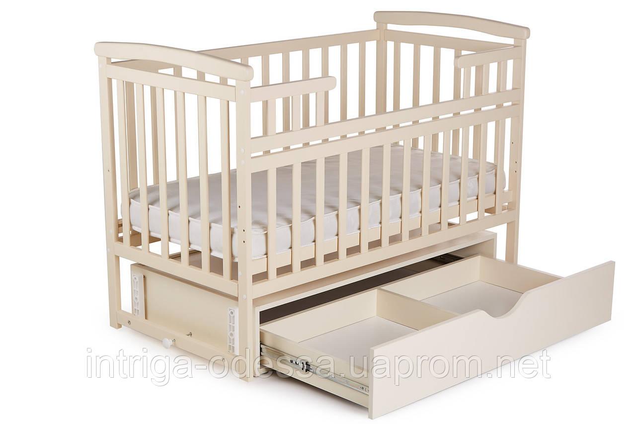 Ліжечко Трансформер Човник дитяче з шухлядою