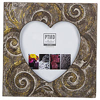 Фоторамка PTMD RAFT photoframe heart .. 665035-PT, Коричневый