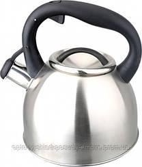 Чайник нержавеющая сталь  Vincent со свистком 2.5л (VC-3583)