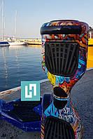 Гироборд Smart Balance Wheel6,5 оранжевый граффити