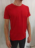 Мужская футболка MSY. 42636-8182(ч). Размеры: M,L,XL,XXL., фото 5