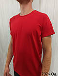 Мужская футболка MSY. 42636-8182(ч). Размеры: M,L,XL,XXL., фото 6