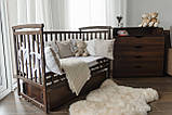 Ліжечко Трансформер Човник дитяче з шухлядою, фото 7