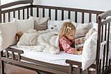 Ліжечко Трансформер Човник дитяче з шухлядою, фото 8