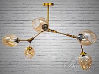 "Люстра Diasha - ""Молекула"" на 5 ламп 881-5GG"