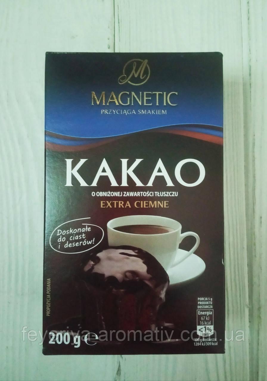 Какао Magnetic Cacao Extra Ciemne 200г (Польша)