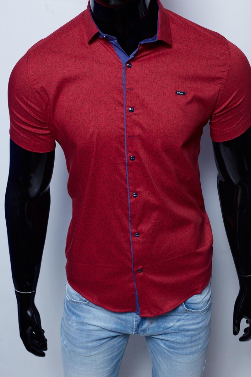 Рубашка короткий рукав Paul Smith 15801 бордо