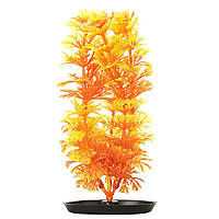 Декорация для аквариума Marina AquaScaper растение «Ambulia Orange-Yellow» 20 см (пластик)