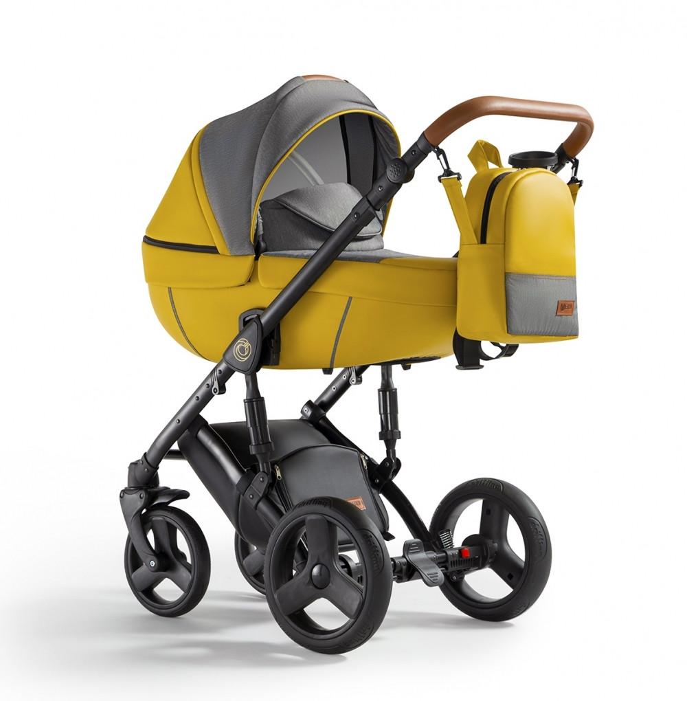 Універсальна коляска 2 в 1 Verdi Orion 08 Yellow lemon, жовтий (8270)