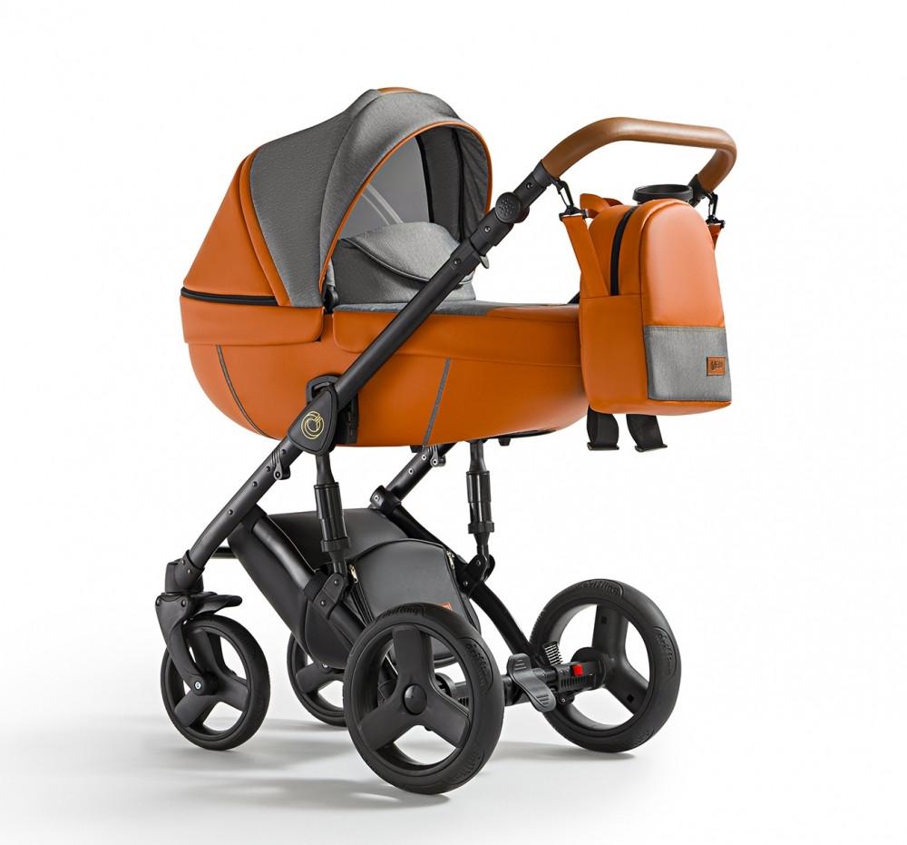 Універсальна коляска 2 в 1 Verdi Orion 07 Orange, оранжевий (8272)