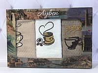 Полотенца вафельные для рук. Кухонные. Ayben Р4,5