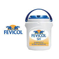 Клей FEVICOL SH для столярных работ: для склеивания дерева, фанеры, ламинатов, шпона, ДСП, МДФ друг с другом