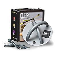 🔝 TRX крепление на потолок/стену для петель TRX для дома и офиса - Цвет Серый | 🎁%🚚