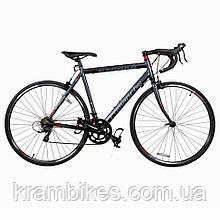 """Велосипед Comanche - Strada Comp (2020) (28""""/700c-56см) Серый/Красный"""