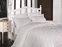 Постельное белье First Choice 160х220 сатин люкс Sweta beyaz