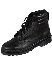 Ботинки рабочие кожаные клеепрошивные
