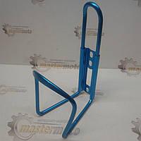 Флягодержатель алюминиевый (крепление на раму), синий, фото 1