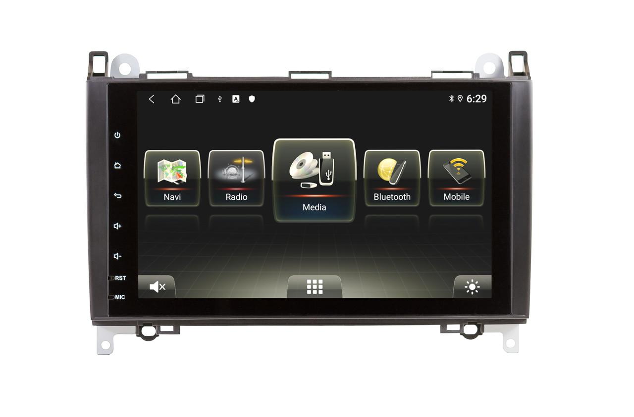 Штатная автомагнитола SoundBox SBU-8663 2G для Mercedes Benz A/B Class