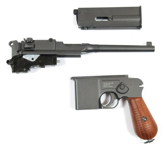 пневматичний пістолет mauser m712