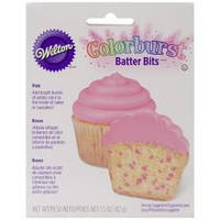 Кондитерская цветная посыпка в тесто Wilton Colorburst Batter Bits 43 г Розовая (W7101147)