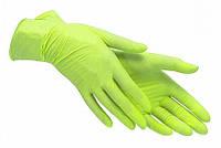 Перчатки SafeTouch Advanced Green S (буз пудры)