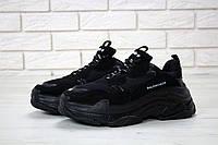 Мужские кроссовки Balenciaga Triple S Triple Black 41