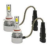 Светодиодные автомобильные лампы Лед Led H4  ближний дальний, фото 4