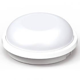 Светодиодный cветильник для ЖКХ ARTOS 15W накладной 4200K круг белый IP65 Код.59748