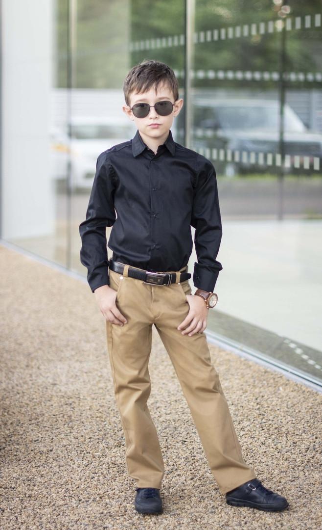 """Детские школьные брюки для мальчика """"NEVIS"""" с карманами"""
